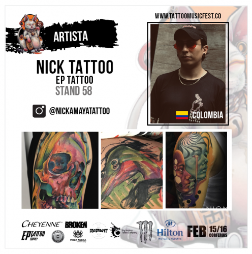 NICK TATTOO