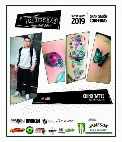 CHINO TATTS USA