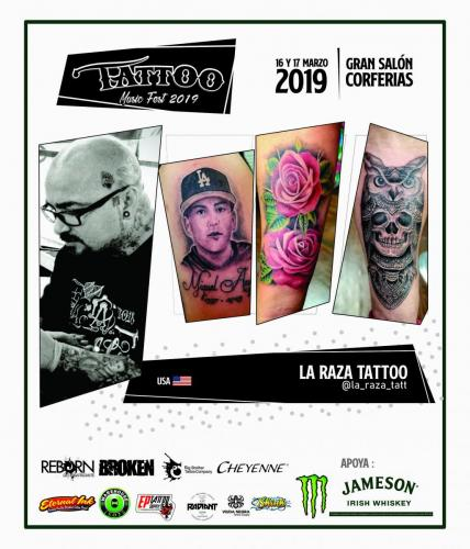 LA RAZA TATTOO USA